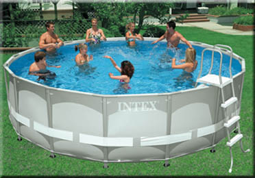 Intex For Your Recreational Times Round Ultra Frame