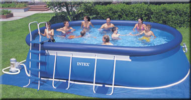 Above Ground Swimming Pools Intex For Your Recreational
