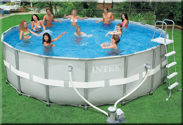 round ultra frame swimmingpool 18 x 52