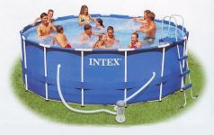 Round Metal Frame Swimmingpools Intex For Your