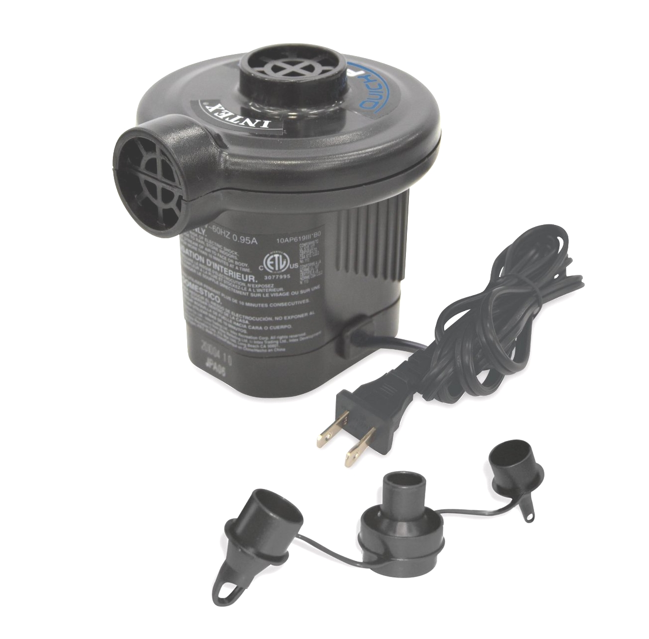 Quick Fill Electric Airpump 220 Volt